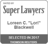Super Lawyers 2017 - Loreen C. Blackwell